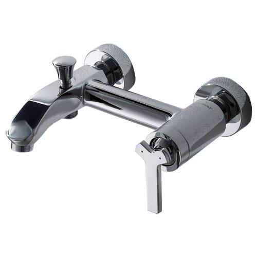 Однорычажный смеситель для ванны с душем Bravat Waterfall F673107C-01 (WF0554)Смесители<br>