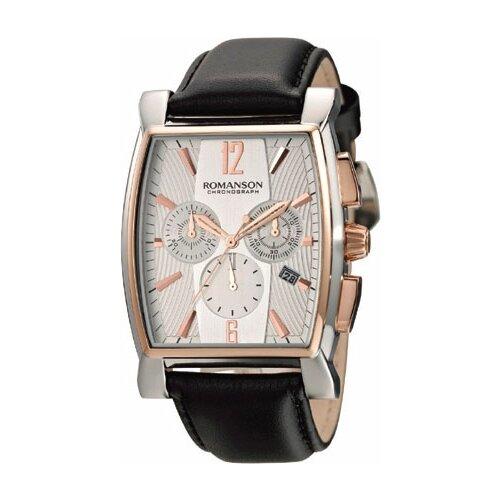 Наручные часы ROMANSON TL1249HMJ(WH)BK romanson tl 1272j mg wh bk