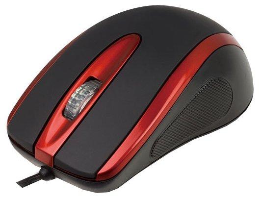 Мышь Aneex E-M831 Black-Red USB