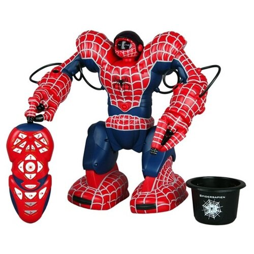 Купить Интерактивная игрушка робот WowWee SpiderSapien красный/синий, Роботы и трансформеры