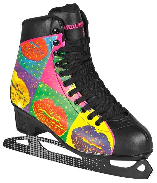 Женские коньки PowerSlide Ice 902198/902202 Pop Art (взрослые)