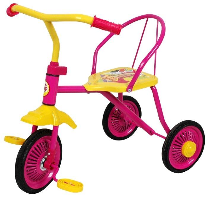 Трехколесный велосипед 1 TOY Т58440 Barbie