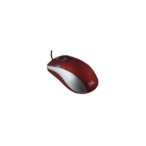 Мышь JiiL Trend Optical Mouse Red USB