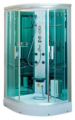 Душевая кабина Aqualux E005 низкий поддон 95см*95см