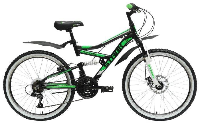 Подростковый горный (MTB) велосипед STARK Striky FS Disc (2015)