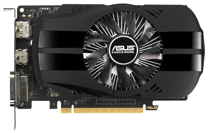 ASUS GeForce GTX 1050 Ti 1290Mhz PCI-E 3.0 4096Mb 7008Mhz 128 bit DVI HDMI HDCP Phoenix