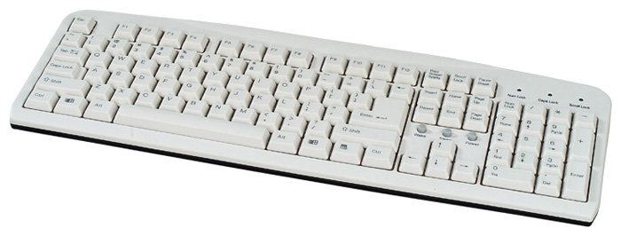 Клавиатура COLORSit KB-1807 White PS/2