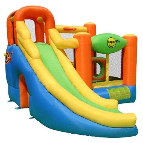 Надувной комплекс Happy Hop Игровой центр 10 в 1 9106N
