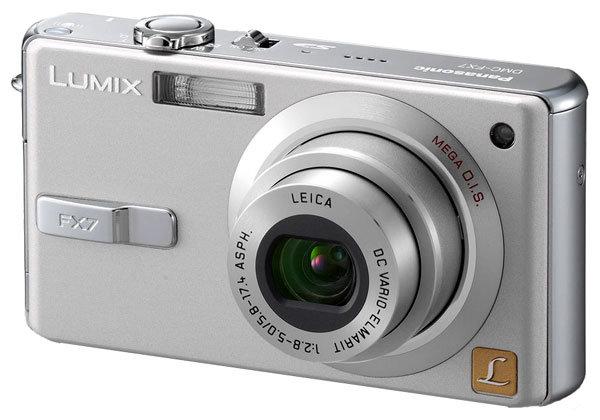 Фотоаппарат Panasonic Lumix DMC-FX7