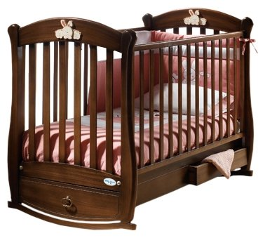 Кроватка Baby Italia Rosa Vip