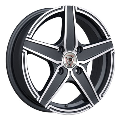 Фото - Колесный диск NZ Wheels F-1 6x15/4x100 D60.1 ET50 BKF колесный диск nz wheels f 42 6x15 4x100 d60 1 et40 bkbsi