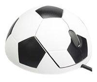 Мышь NeoDrive Футбольная Черная USB+PS/2