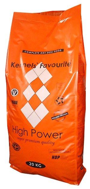 Корм для собак Kennels Favourite High Power