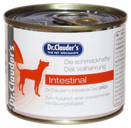 Корм для собак Dr. Clauder's Intestinal Diet консервы для собак при заболеваниях кишечника (0.2 кг) 1 шт.