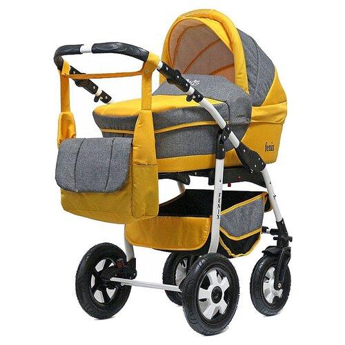 коляска 2 в 1 teddy bartplast angelina pkl 2016 ro02 бежевый Универсальная коляска Teddy Fenix Len PCO (2 в 1) 07