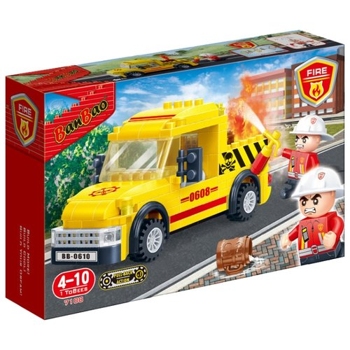 Конструктор BanBao Пожарные 7108 ПикапКонструкторы<br>