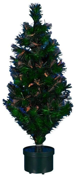 Светящаяся оптиковолоконная елка фейеверк, 0,9 м , SNOWMEN Е70110