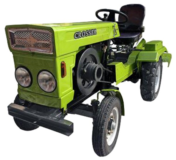 Мини-трактор Crosser CR-M12E-2 Premium