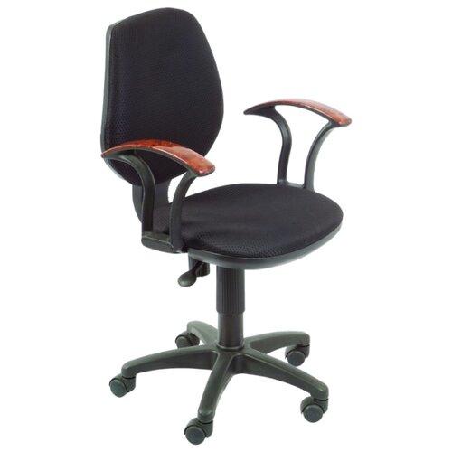Компьютерное кресло Бюрократ CH-725AXSN офисное, обивка: текстиль, цвет: черный JP-15-2 цена 2017