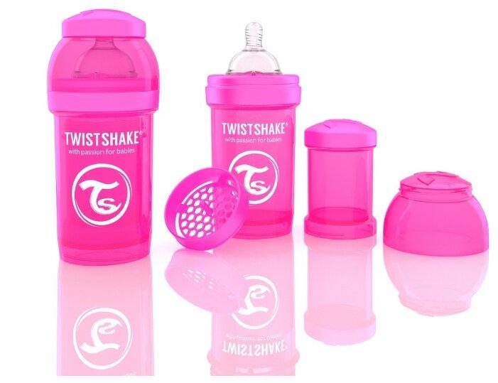 Twistshake Бутылочка антиколиковая 180 мл с рождения