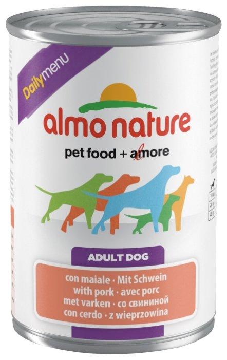 Корм для собак Almo Nature Daily Menu свинина 400г