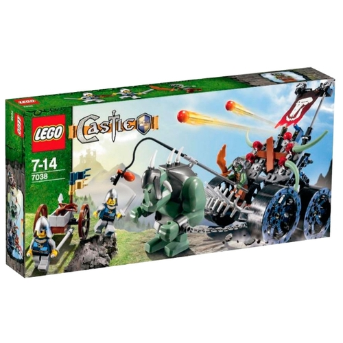 Конструктор LEGO Castle 7038 Troll Assault Wagon