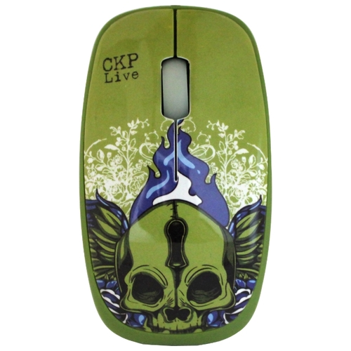 Мышь Cirkuit Planet CPL-MO1030 Green USB