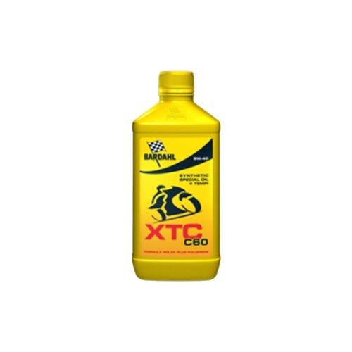 Фото - Синтетическое моторное масло Bardahl XTC C60 5W-40, 1 л синтетическое моторное масло bardahl xtc c60 off road 10w 40 1 л