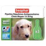 Beaphar Капли Био от блох, клещей и комаров для собак средних пород