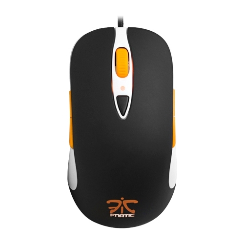 Мышь SteelSeries Sensei Fnatic Edition Laser Black-White USB