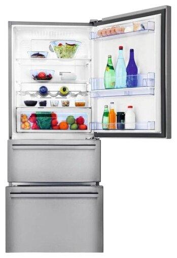 Холодильник Beko CN 151720 DX серебристый