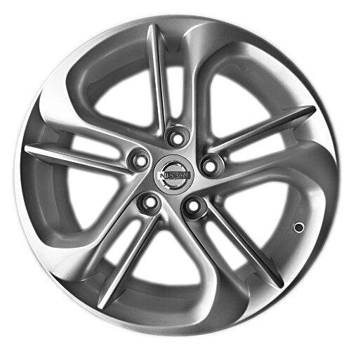 Фото - Колесный диск LegeArtis NS107 6.5x17/5x114.3 D66.1 ET40 Silver колесный диск legeartis ns91 6 5x16 5x114 3 d66 1 et40 silver
