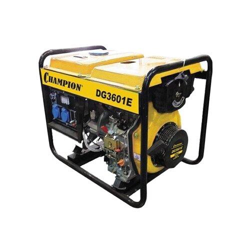 Дизельный генератор CHAMPION DG3601E (2700 Вт) дизельный генератор hyundai dhy 8000se