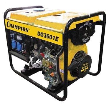 Дизельный генератор CHAMPION DG3601E (2700 Вт)