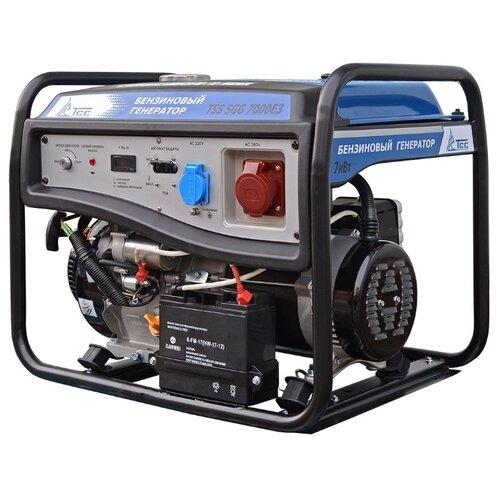 Бензиновый генератор ТСС SGG-7000 E3 (7000 Вт)