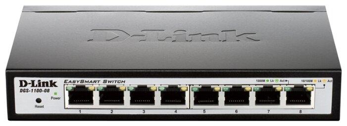 D-link Коммутатор D-link DGS-1100-08