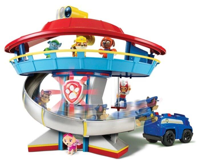 Машинка Spin Master Щенячий патруль Спасательная станция-трансформер: Маршалл
