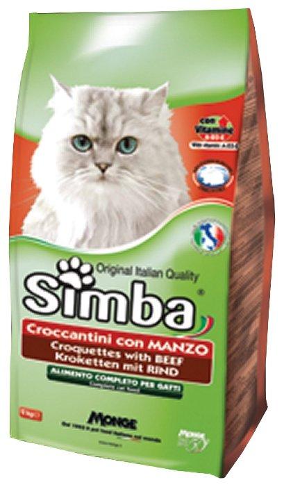 Simba Сухой корм для кошек Говядина (0.4 кг)