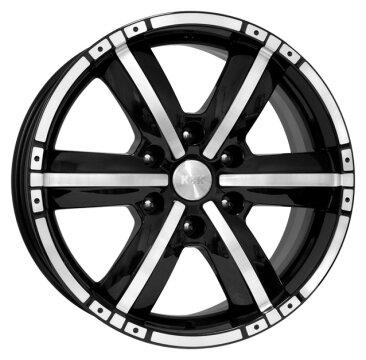 Колесный диск K&K Окинава 8x18/6x139.7 D106.1 ET25 Алмаз черный