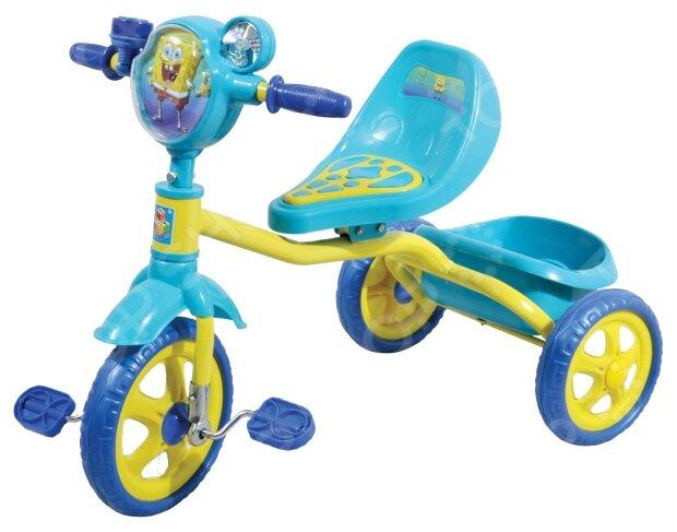 Трехколесный велосипед 1 TOY Т57655 Губка Боб