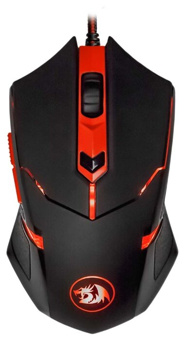 Redragon Centrophorus Black-Red USB
