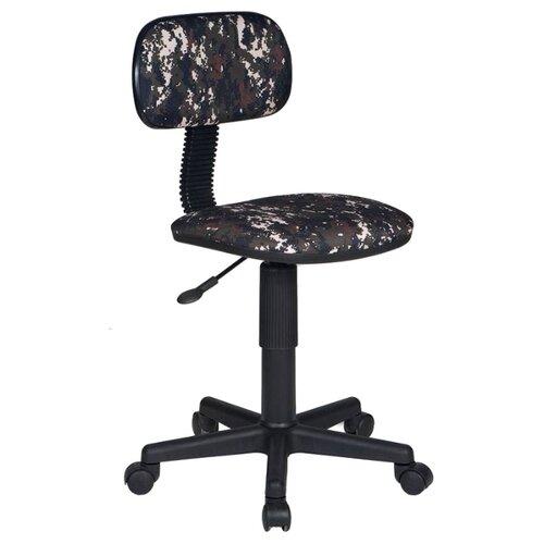 Компьютерное кресло Бюрократ CH-201NX детское, обивка: текстиль, цвет: Military бюрократ ch 201nx grland