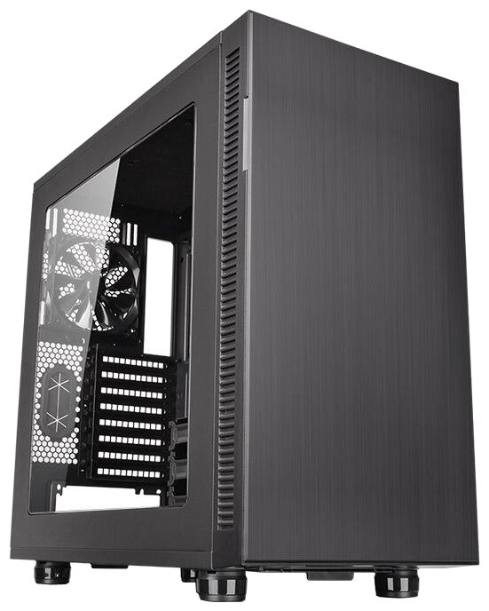 Thermaltake Компьютерный корпус Thermaltake Suppressor F31 Window CA-1E3-00M1WN-00 Black