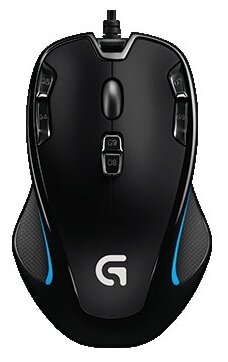 Мышь Logitech G Gaming Mouse G300s Black USB