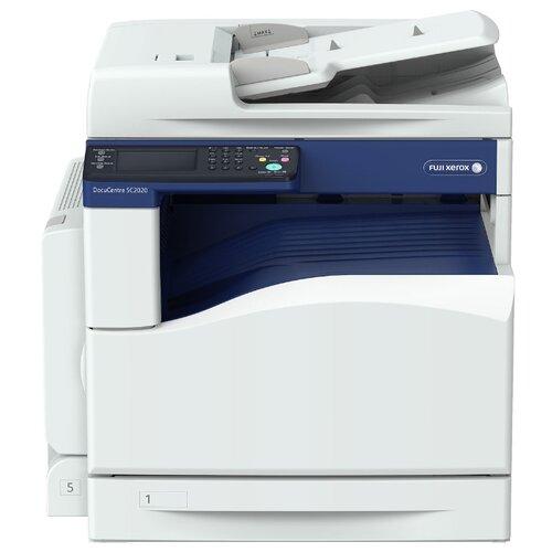 МФУ Xerox DocuCentre SC2020 бело-синий jp version ct350865 ct350868 drum reset chips for xerox docucentre iv c5580 6680 7780