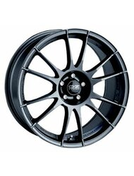 Диск OZ Racing Ultraleggera Matt Graphite Silver 8x17/5x114.3 D75 ET40 - фото 1