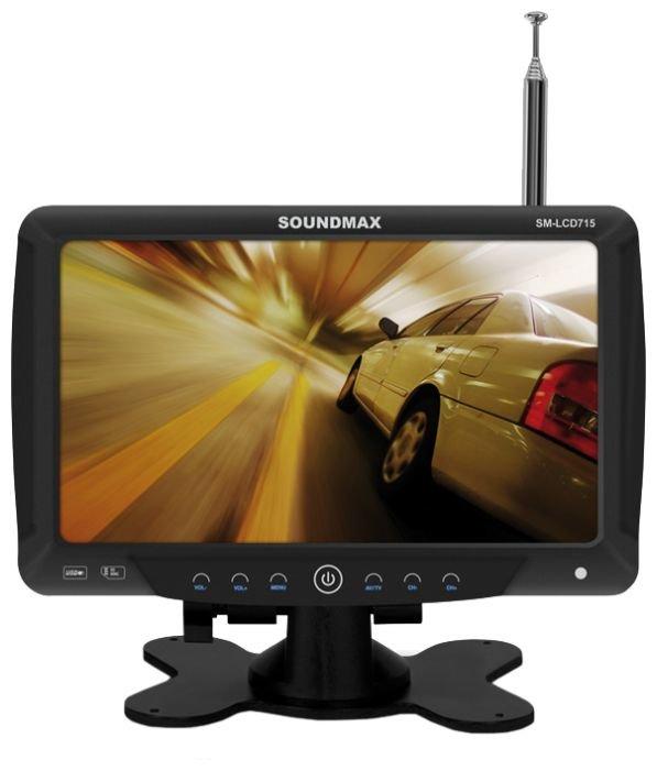 Автомобильный телевизор SoundMAX SM-LCD715