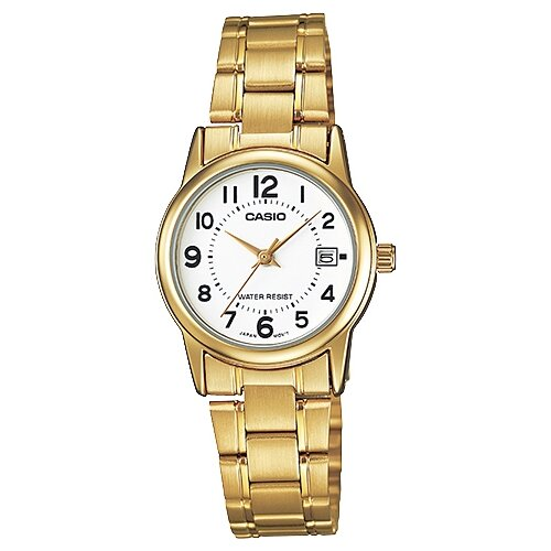 Фото - Наручные часы CASIO LTP-V002G-7B наручные часы casio ltp vt01d 7b