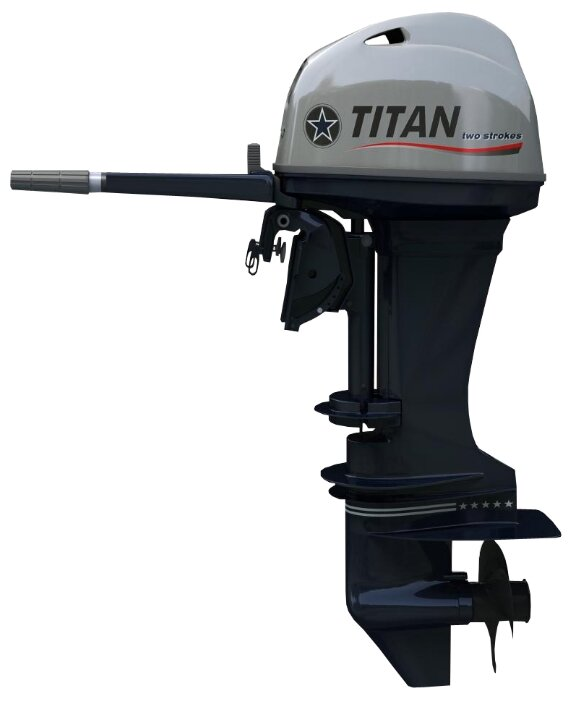 TITAN Outboards TP60AMHDL