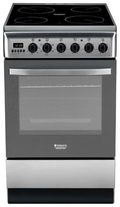 Газовая плита Hotpoint-Ariston H5GG1F (X) RU серебристый